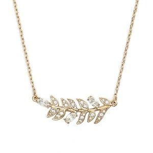 Marchesa Leaf Pendant Necklace